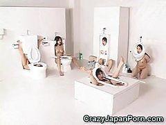 human toilet